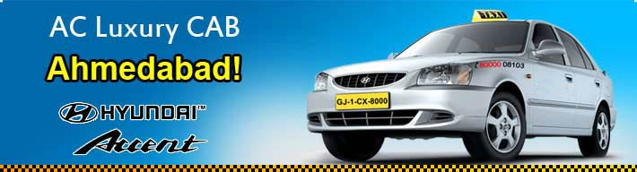 AC Luxury Cab Services Ahmedabad